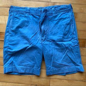 "J Crew 9"" inseam shorts- rich sky blue"